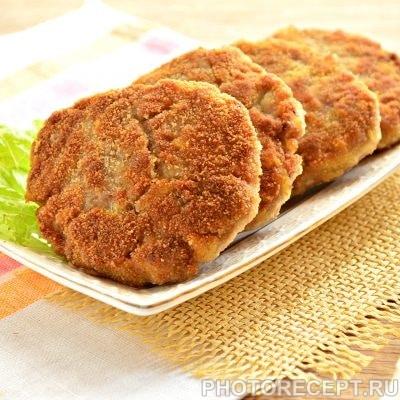 Котлеты из мясного фарша с картошкой - рецепт с фото