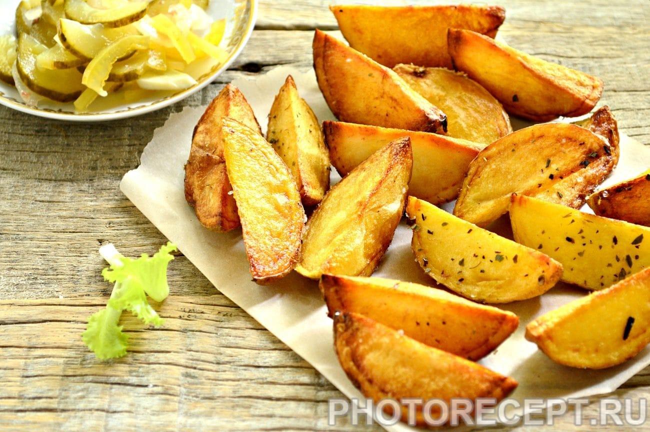 Картофель по-деревенски со специями
