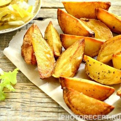 Картофель по-деревенски со специями - рецепт с фото