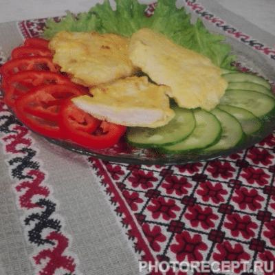 Куриные отбивные в сырной обсыпке - рецепт с фото