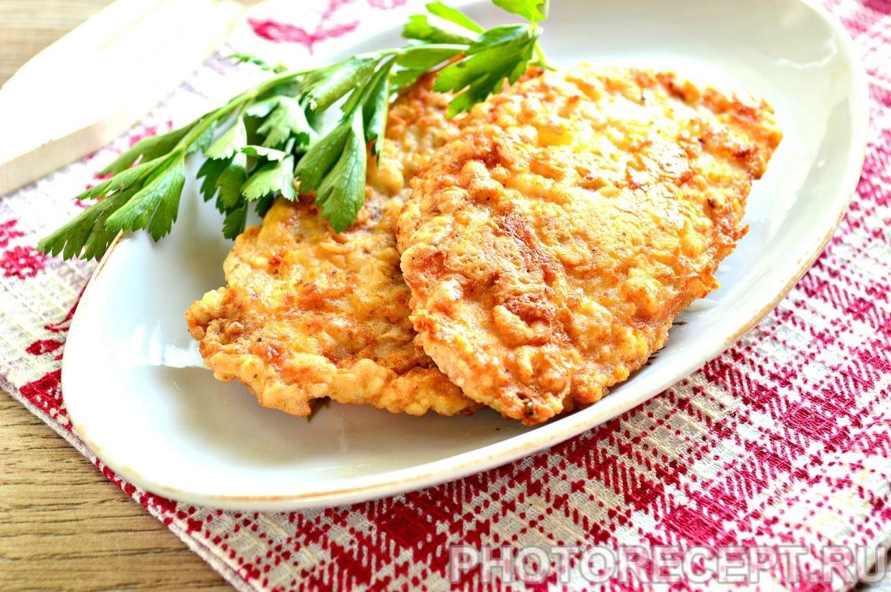 рецепты отбивных из куриного филе на сковороде с фото пошагово
