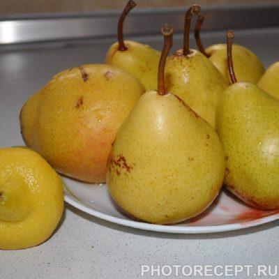 Фото рецепта - Грушевое варенье с лимоном - шаг 1