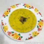 Суп-пюре из кабачка и тыквы