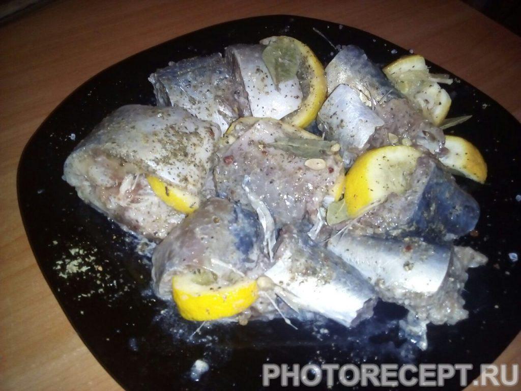 Фото рецепта - Рыба с овощами, приготовленная в мультиварке - шаг 4