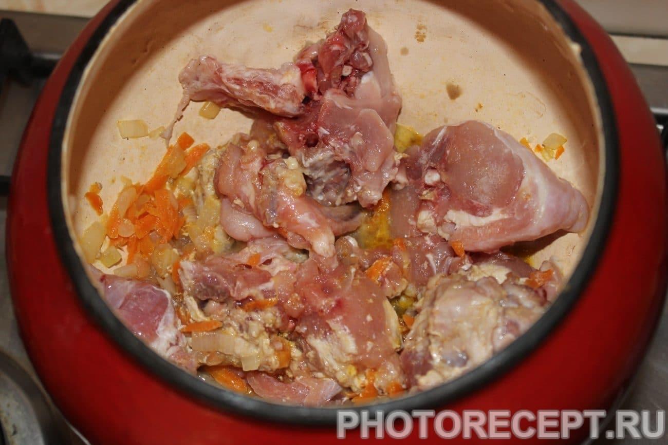 Тушеный кролик - Пошаговый рецепт с фото Блюда из мяса