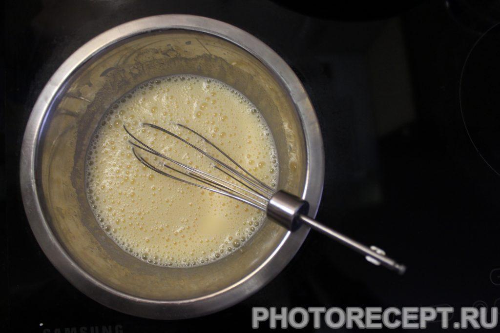 Фото рецепта - Вкуснейший диетический шоколадно-ванильный пудинг - шаг 6