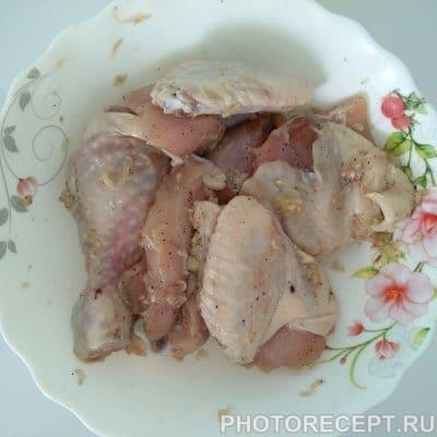 Как разделать курицу на порционные куски фото пошагово в