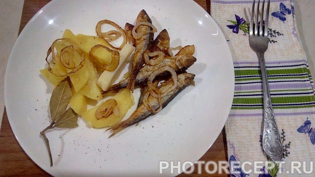 Фото рецепта - Рыба жареная - шаг 7