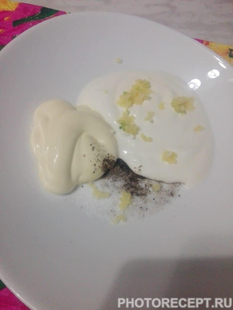 Фото рецепта - Куриное филе под сырной шубой - шаг 3