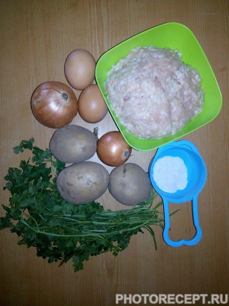 Фото рецепта - Куриные котлеты из фарша - шаг 1
