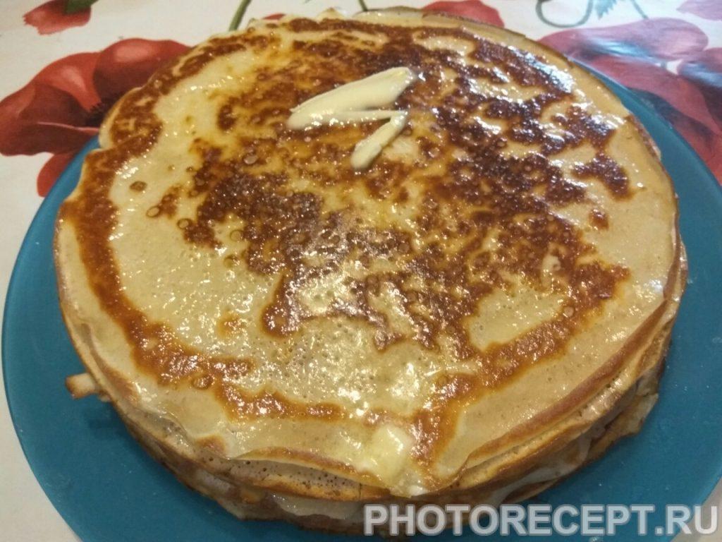 Фото рецепта - Блинчики «3 на 3» на завтрак - шаг 6
