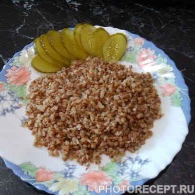 Рассыпчатая гречневая каша - рецепт с фото