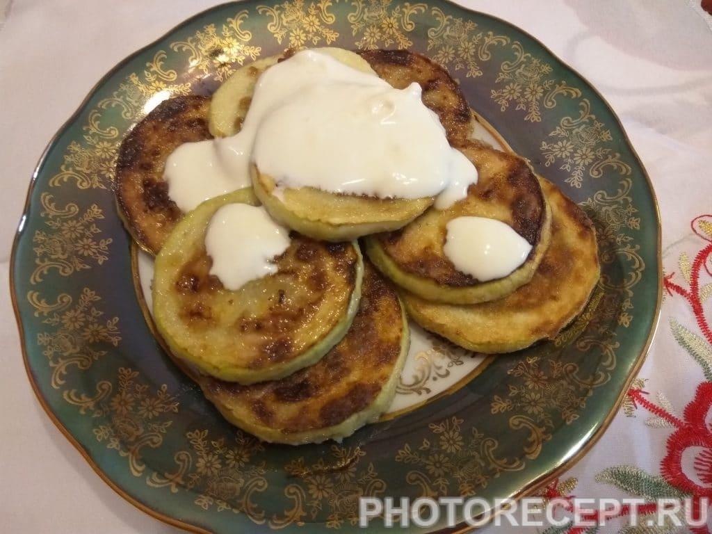 Фото рецепта - Горячая закуска из кабачков - шаг 8