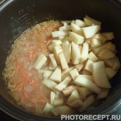 Фото рецепта - Гороховый суп в мультиварке - шаг 6