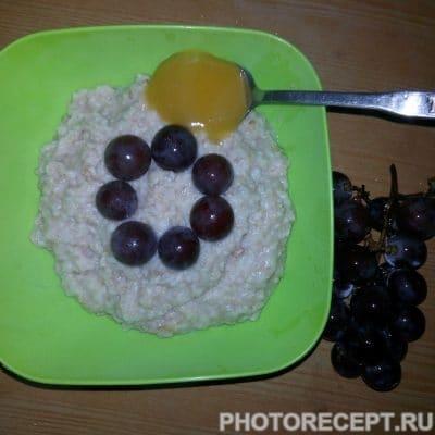 Овсяная каша с виноградом - рецепт с фото