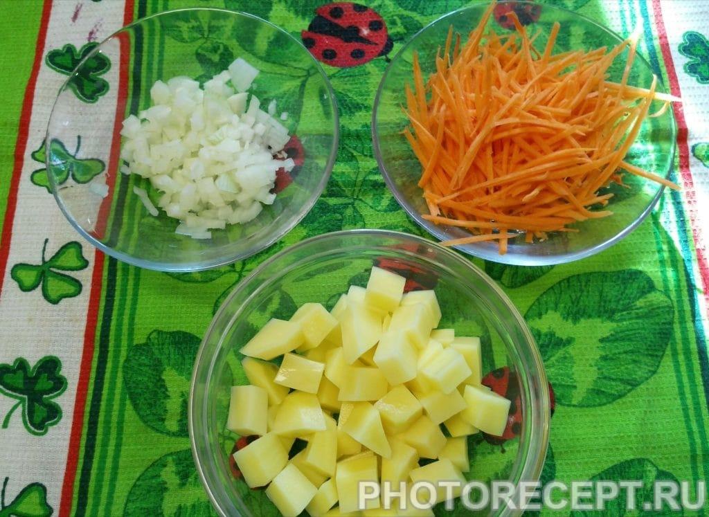 Фото рецепта - Суп с мини — клёцками - шаг 2