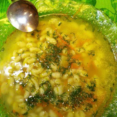 Суп с мини — клёцками - рецепт с фото