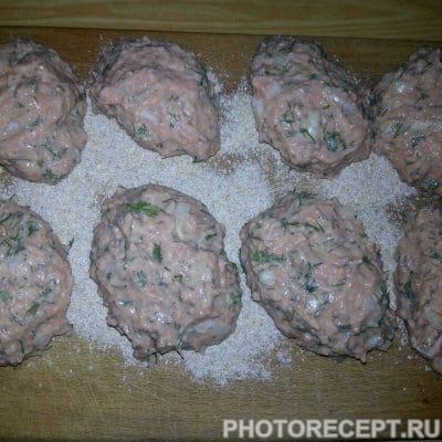 Фото рецепта - Рыбные котлеты из фарша - шаг 4