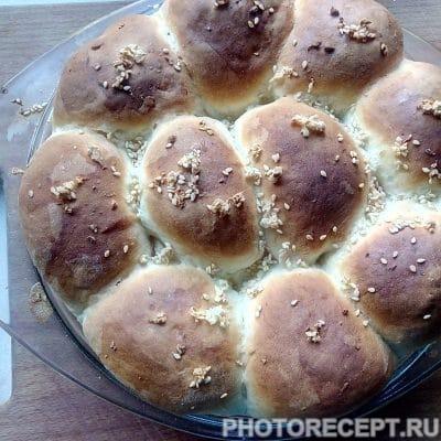 Пампушки с чесноком - рецепт с фото