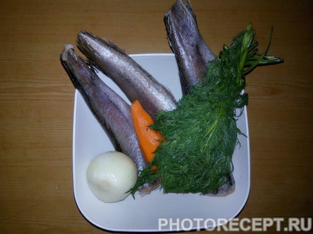 Фото рецепта - Рыба тушеная с луком и морковью - шаг 1