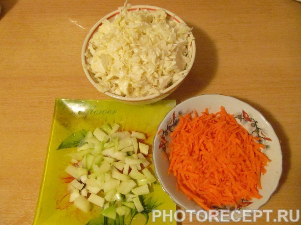 Фото рецепта - Солянка из капусты 2 в 1 - шаг 1