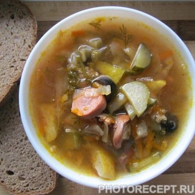 Солянка из капусты 2 в 1 - рецепт с фото
