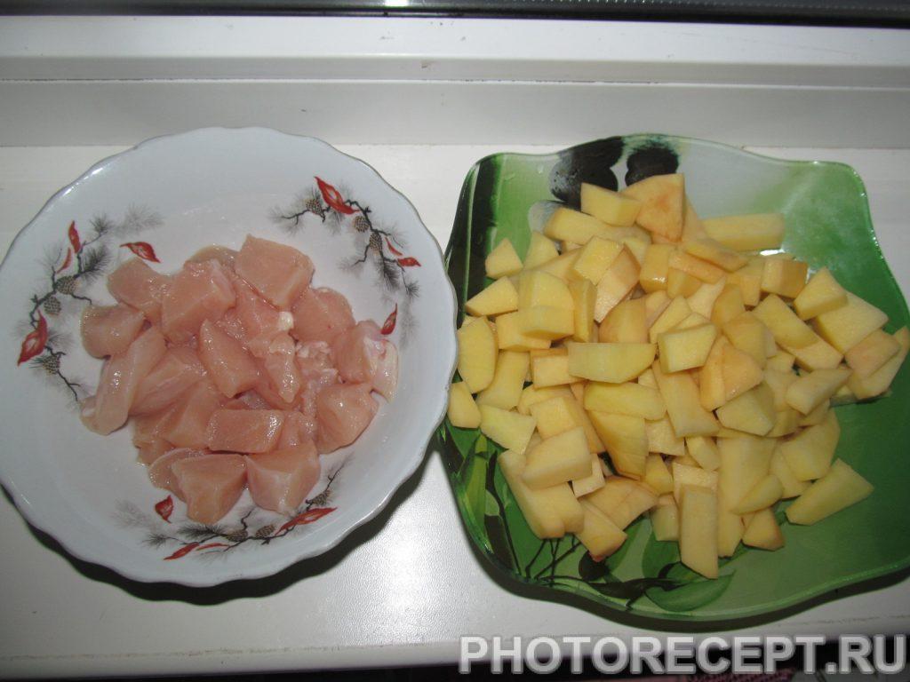Фото рецепта - Гороховый суп в мультиварке - шаг 5