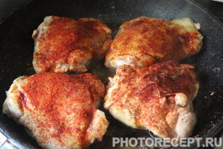 Фото рецепта - Чахохбили из курицы - шаг 7