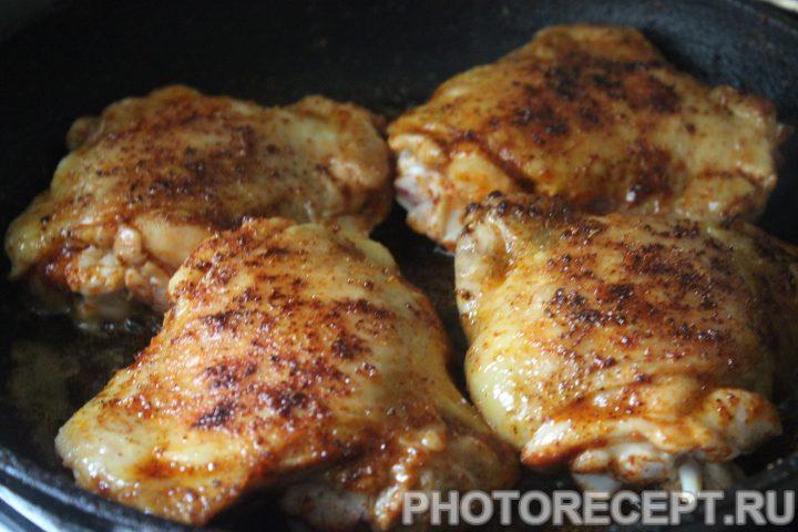Фото рецепта - Чахохбили из курицы - шаг 8