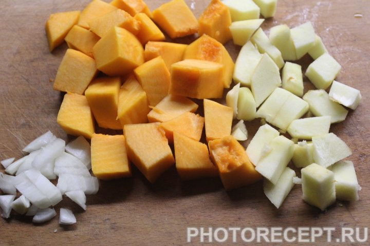 Фото рецепта - Курица с индийским тыквенным чатни - шаг 2