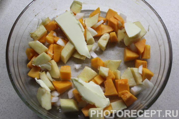 Фото рецепта - Курица с индийским тыквенным чатни - шаг 3