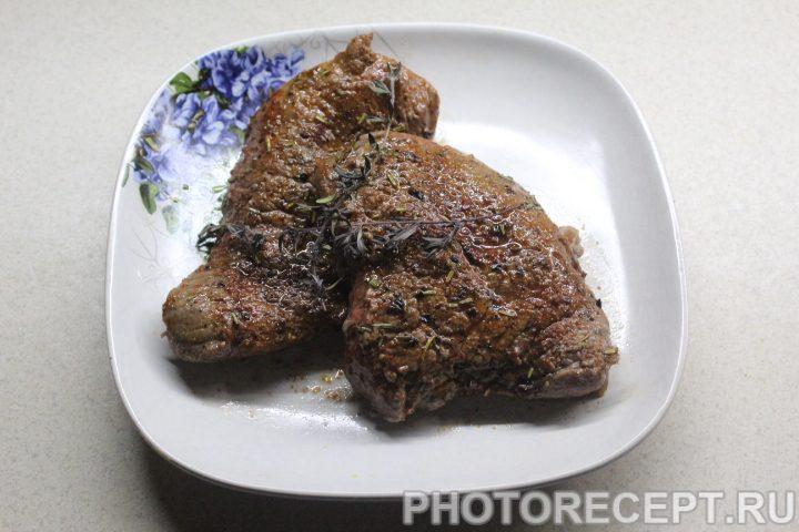 Фото рецепта - Стейк из говядины - шаг 10