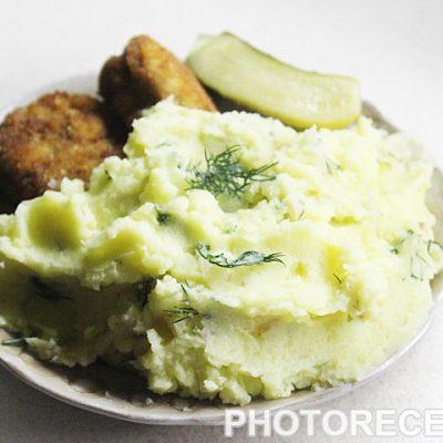 Нежное картофельное пюре - рецепт с фото