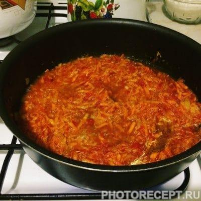 Фото рецепта - Голубцы с фаршем и рисом - шаг 6