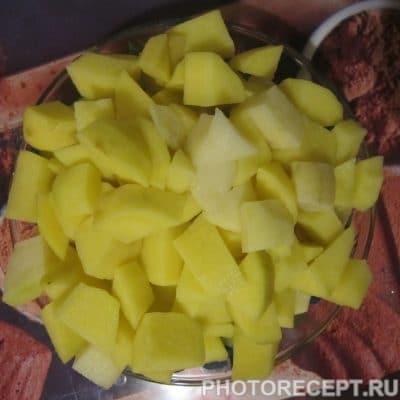 Фото рецепта - Сборная солянка с колбасой - шаг 2