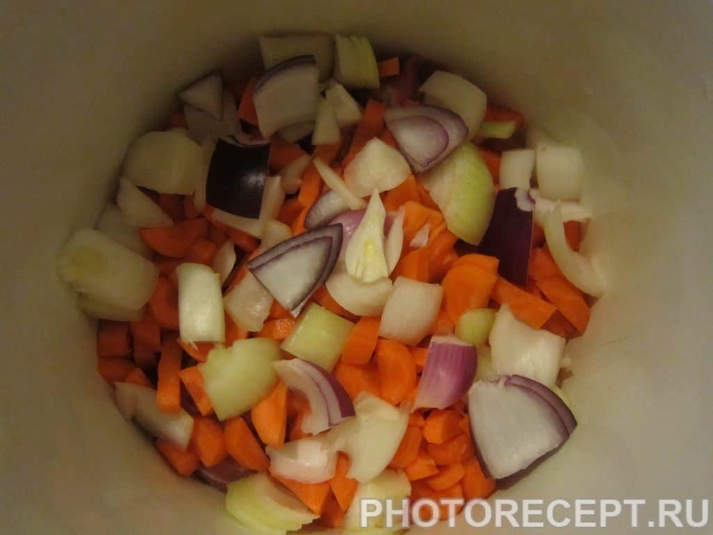 Фото рецепта - Шурпа из свинины - шаг 3
