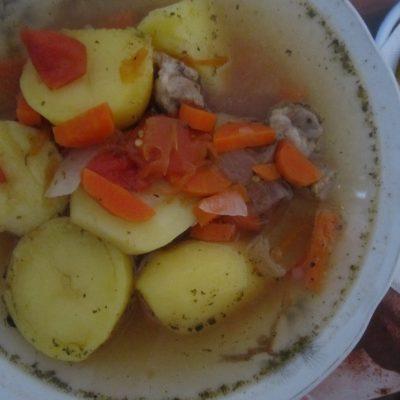 Шурпа из свинины - рецепт с фото