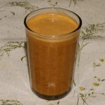 Сок морковно-яблочный с мякотью