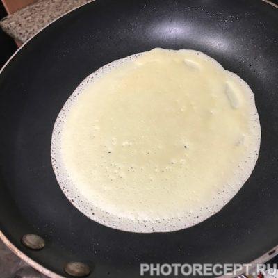 Фото рецепта - Вкусные блины на молоке - шаг 3