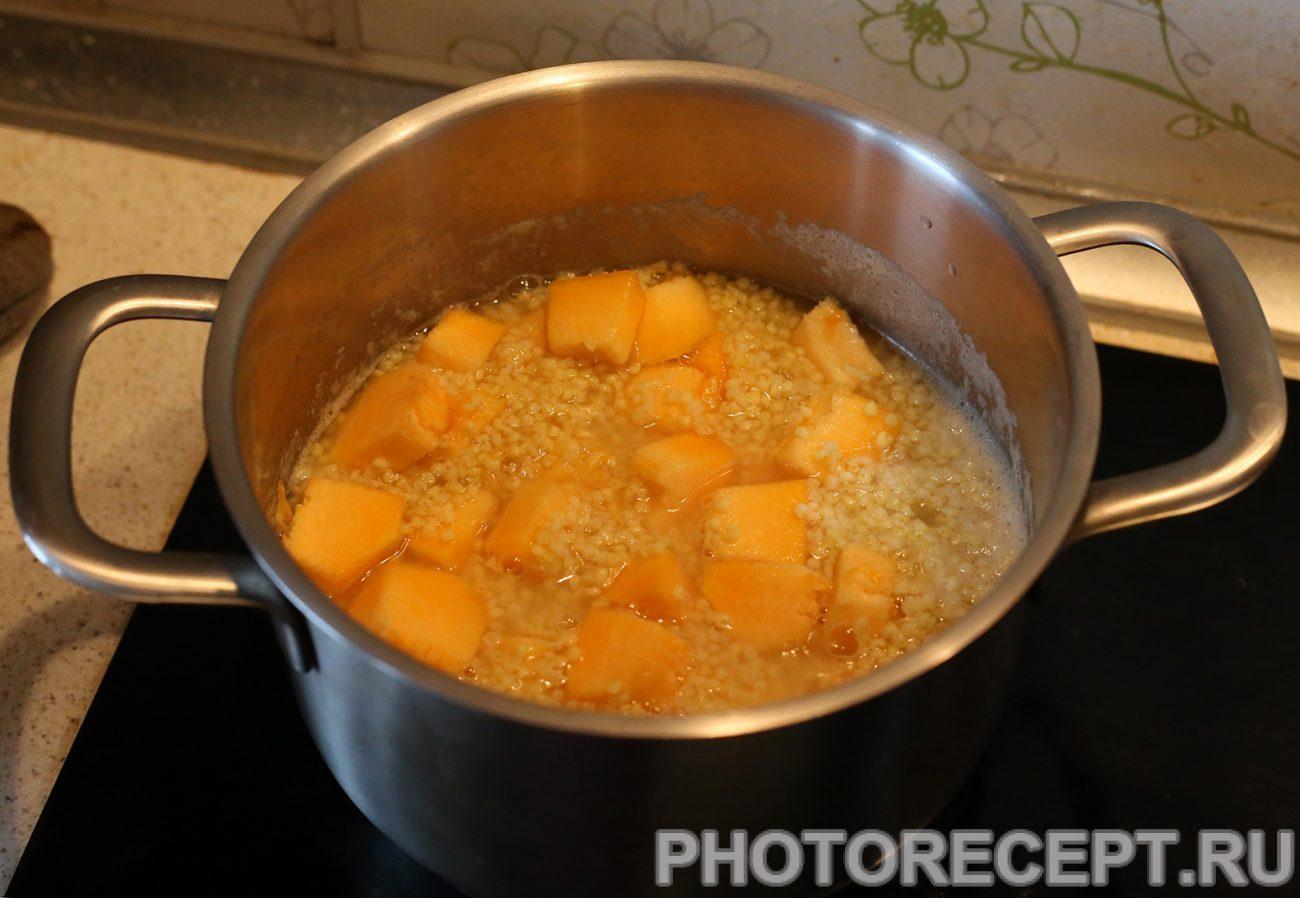 Тыква с пшеном на воде рецепты приготовления