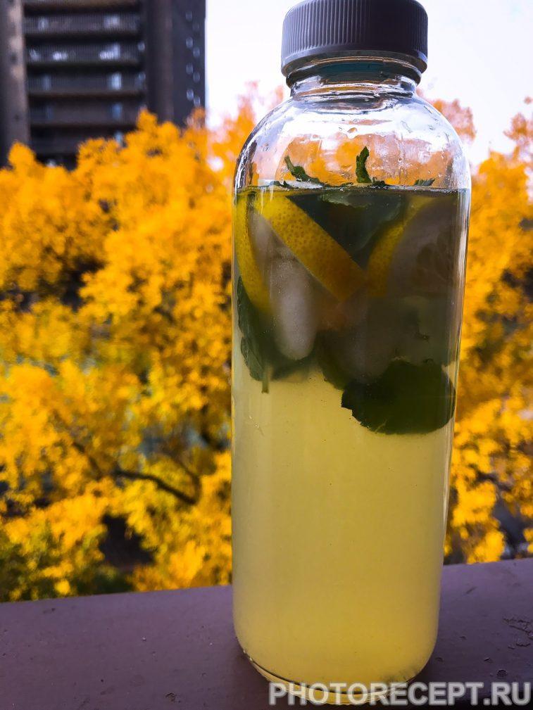 Фото рецепта - Лимонад с мятой и имбирем - шаг 7