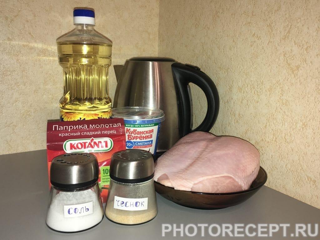 Фото рецепта - Пикантная тушеная курица - шаг 1