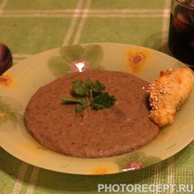 Суп-пюре из чечевицы - рецепт с фото