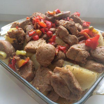 Жаркое из свинины - рецепт с фото