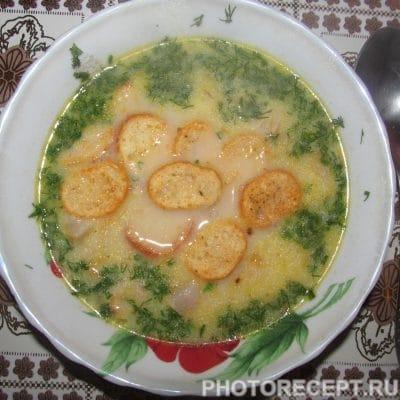 Сырный крем-суп с беконом - рецепт с фото