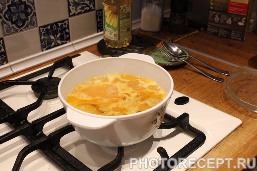 Фото рецепта - Кальмары фаршированные рисом - шаг 4