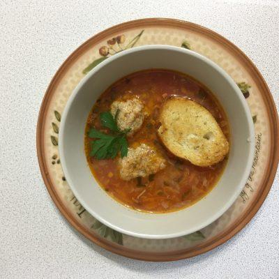 Суп из рыбных консервов-как в лучшем итальянском ресторане! - рецепт с фото
