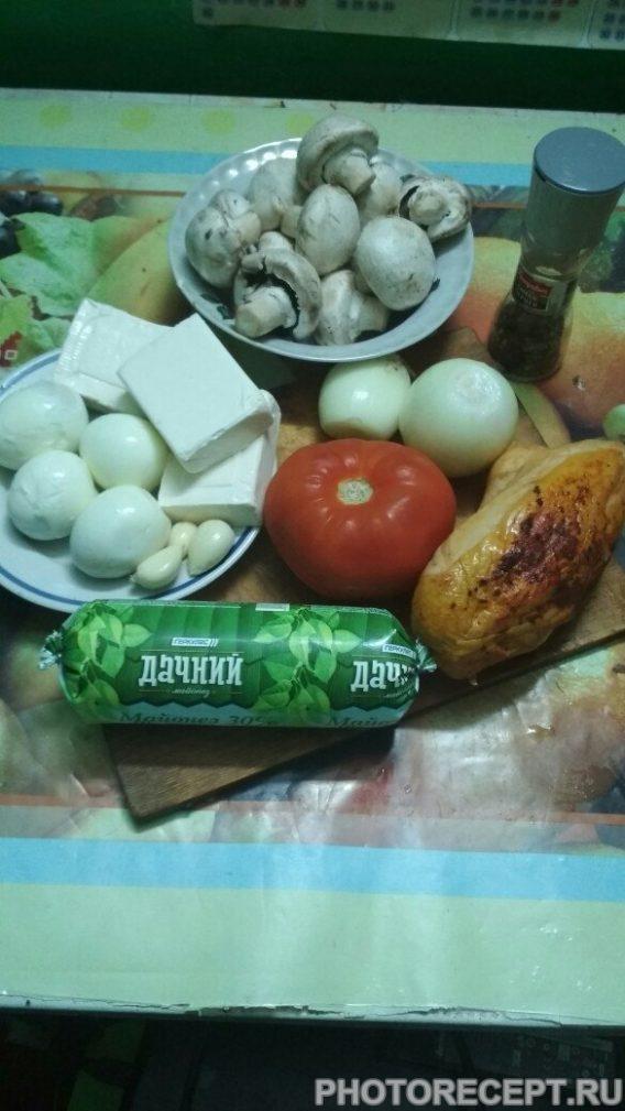 Фото рецепта - Салат из помидоров и мяса «Мужское наслаждение» - шаг 1