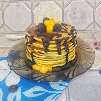 Тыквенные панкейки - рецепт с фото
