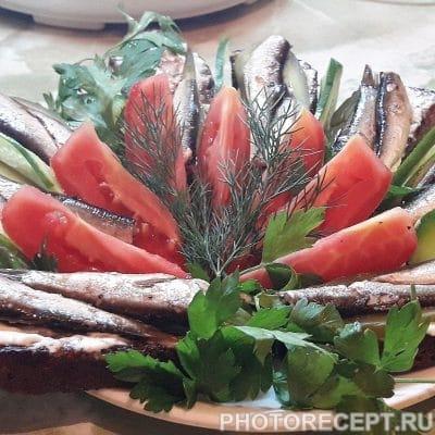 Закусочные бутерброды со шпротами - рецепт с фото